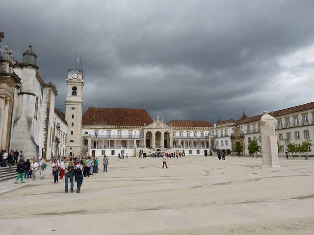 Place centrale de Coimbra