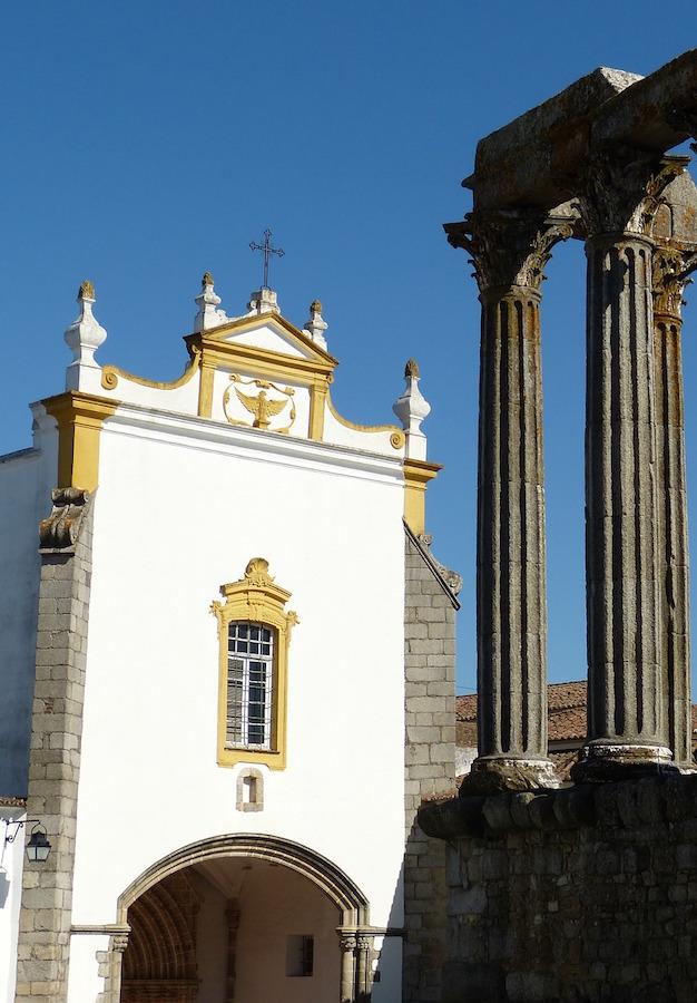 Ruines de Evora