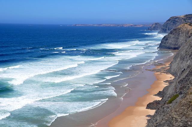 Plage côte ouest de l'Algarve