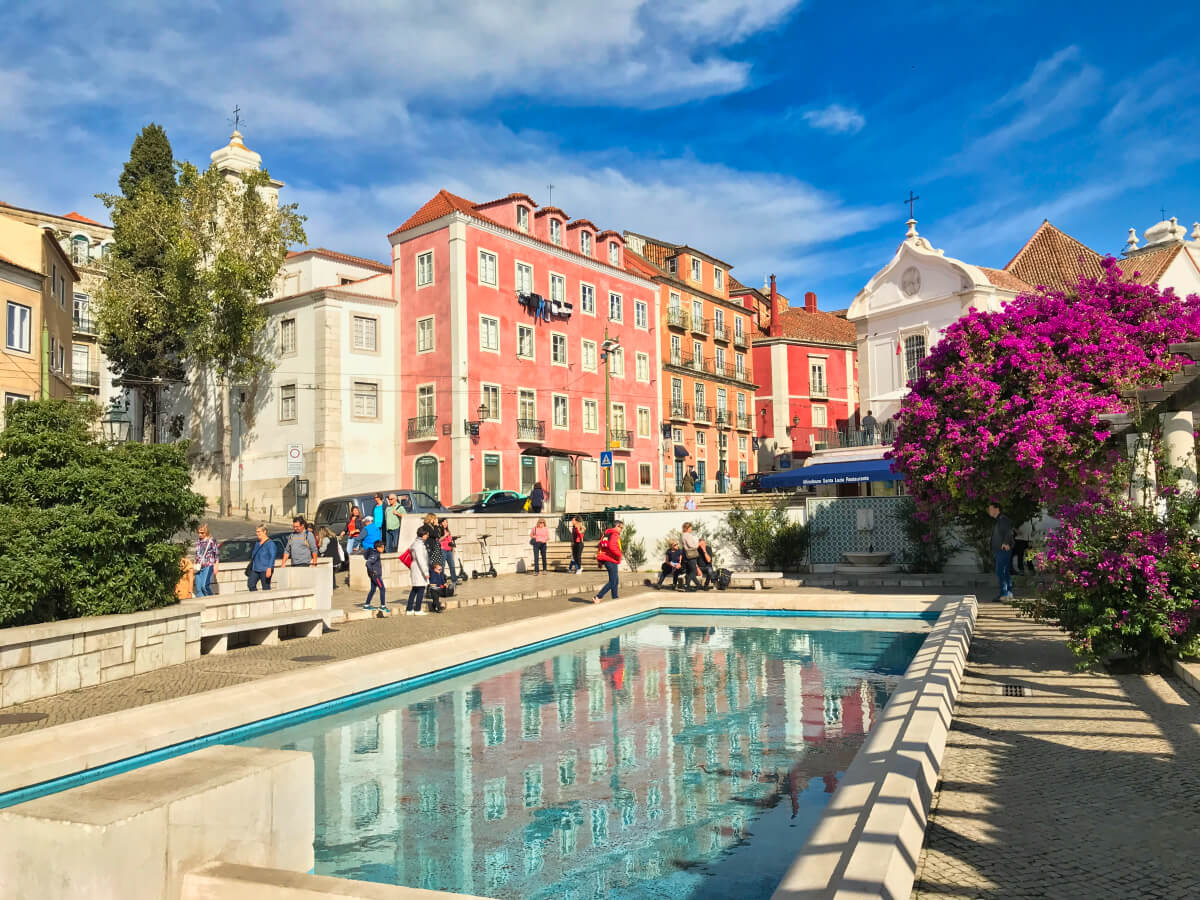 Lisbone quartier Alfama