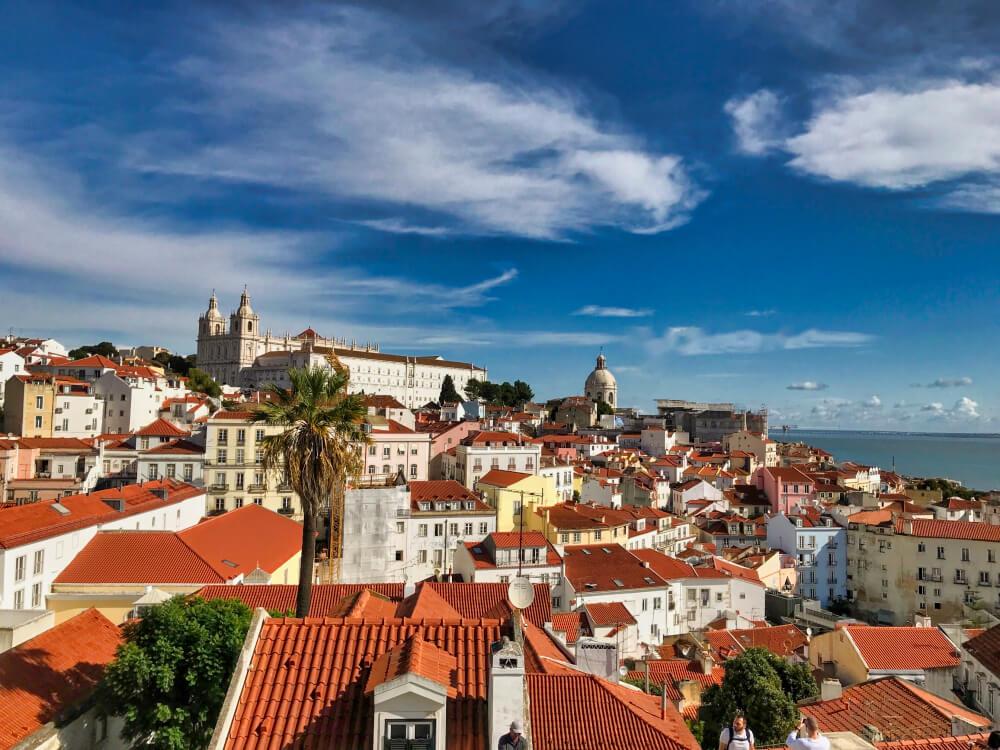 Vue de Lisbonne côté Tage