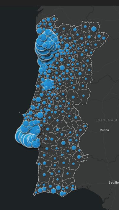 Cas Cocvid au Portugal