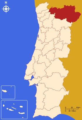 Nord Est du Portugal