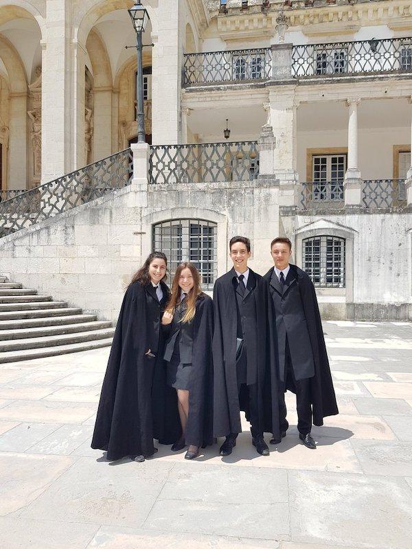 étudiants portugais